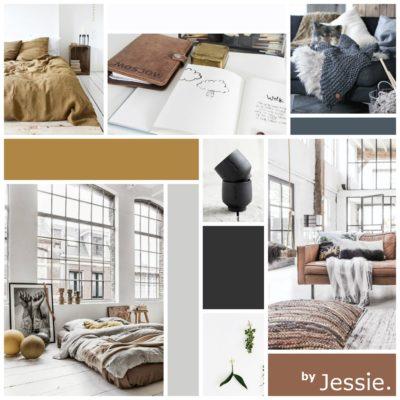 Portfolio byJessie. Moodboard Jessie te Grotenhuis