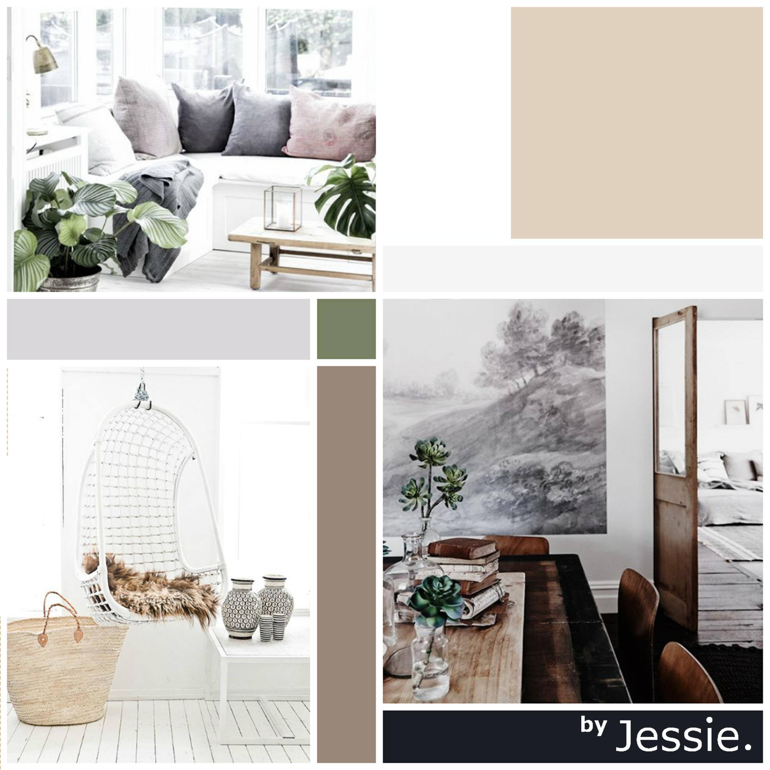 Portfolio byJessie. Woonhuis Aalten Moodboard